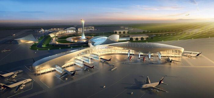 Système de balisage de piste de l'aéroport de Niamey