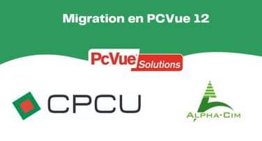 Migration PCVue 12